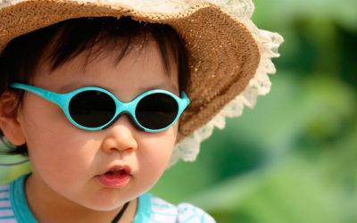 Bebés y niños, con gafas de sol
